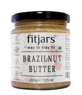 Brazil Nut Butter Smooth Unsalted-200 GE