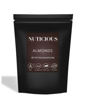 All Natural Premium Almonds (Badam) - 250Gm