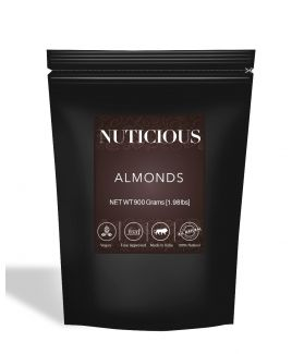 All Natural California Almonds (Badam) - 900Gm