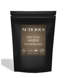 All Natural Dry Figs (Anjeer) - 450Gm