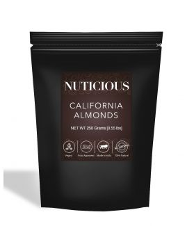 All Natural California Almonds (Badam) - 250Gm