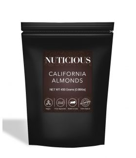 All Natural California Almonds (Badam) - 450Gm