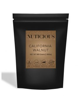 All Natural Premium California Walnuts (Akhrot) - 900Gm
