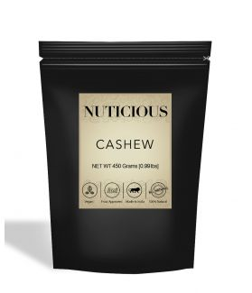 All Natural Premium Cashew Nuts (Kaju) - 450Gm