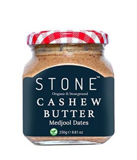 All Natural Stone-Ground Organic Cashew Butter with Medjoul Dates, 250Gm