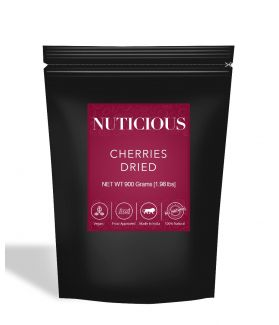 All Natural Dried Cherries - 900Gm