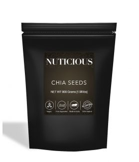 All Natural Healthy Organic Chia Seeds (Omega-3 Food) - 900Gm