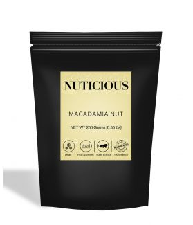 All Natural Exotic Macadamia Nuts - 250Gm