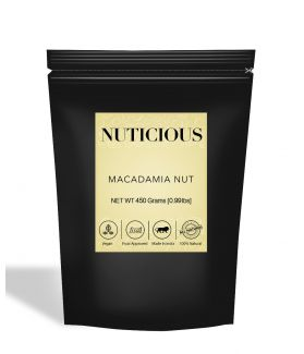 All Natural Macadamia Nuts - 450Gm