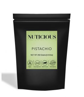 All Natural Pistachio (Pista) Kernels (Without Shell) - 250Gm