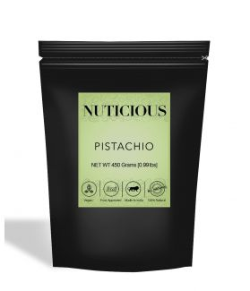 All Natural Pistachio (Pista) Kernels (Without Shell) - 450Gm
