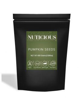 All Natural Premium Pumpkin Seeds Raw - 450Gm