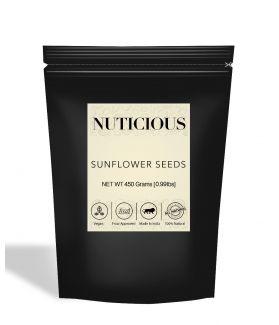 All Natural Premium Sunflower Seeds - 450Gm