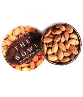 All Natural California Almonds Dry Roasted (Pack of 2) 100Gm